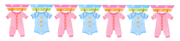 Baby shower banner png. Party tableware clothes supplies