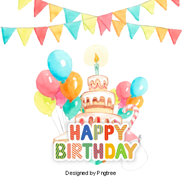 Png images download resources. Transparent decoration birthday banner download