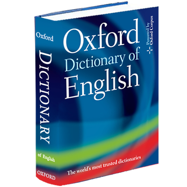 Transparent dictionary. Oxford of english en