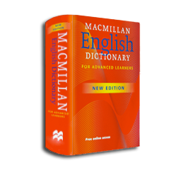 Transparent dictionary background. Macmillan english how it