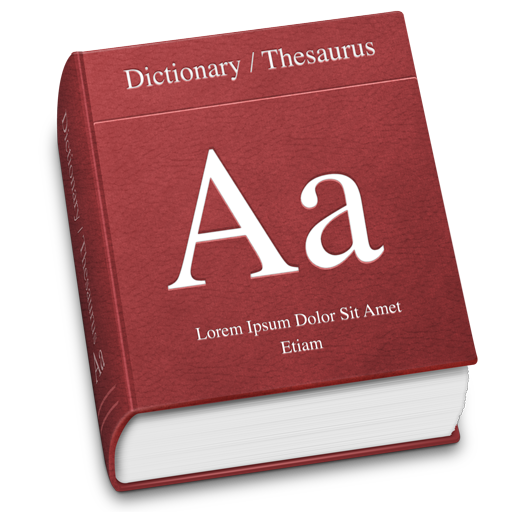 Transparent dictionary clipart. Stock english huge