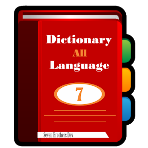 Transparent dictionary language. All android apps on
