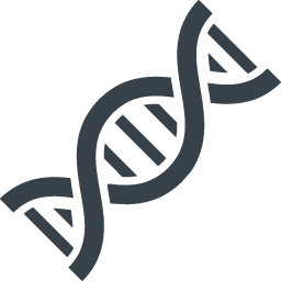 Transparent dna royalty free. Chromosome icon rainbow over