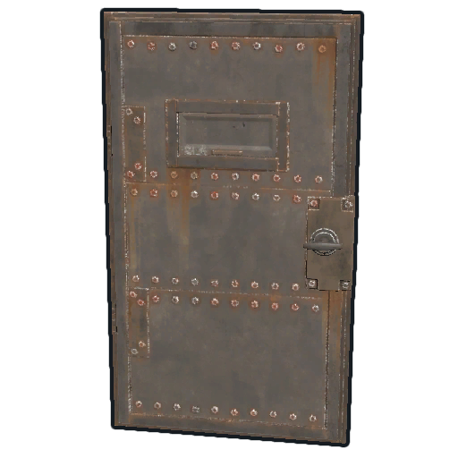 Transparent doors rectangle. Armored door rust wiki