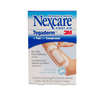 Transparent dressings 3m nexcare. Tegaderm with pad dressing