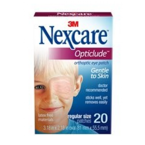 Transparent dressings 3m nexcare. M opticlude oval
