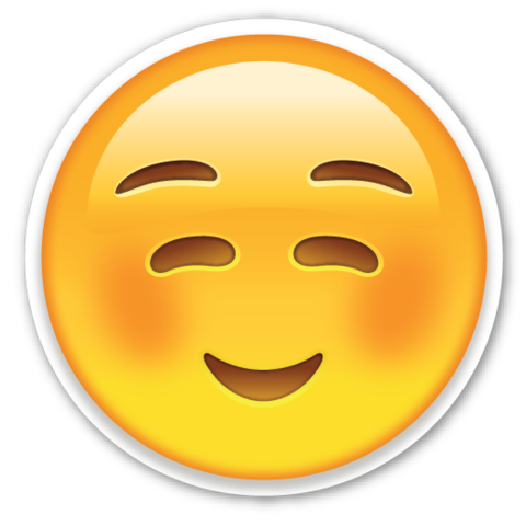 Emoji clipart happy. Free smiley face with