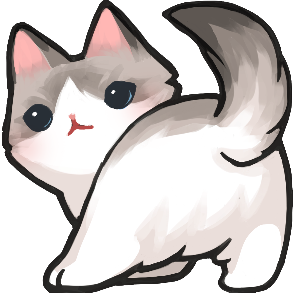 Transparent emotes cat. Duet ded til twitchcon