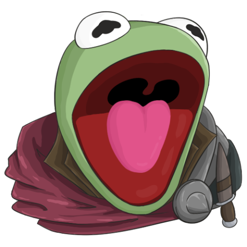 Transparent emotes great discord. With kermit inside of