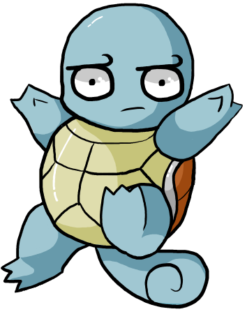 Transparent emotes squirtle. That s an odd