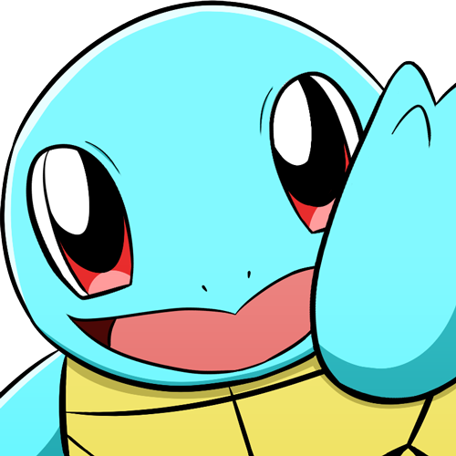 Transparent emotes squirtle. Created new pokemon for
