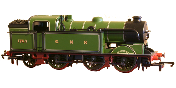 Transparent engine steam. Hornby n class background