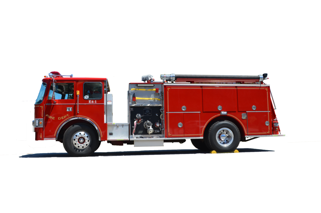 Transparent engine truck. Fire png image purepng
