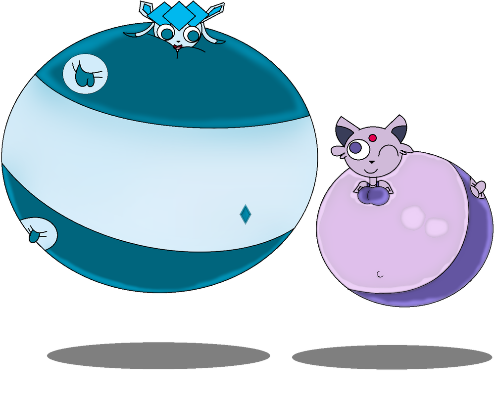 Transparent espeon deviantart. Glaceon and by loganrock