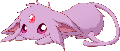 My quest to find. Transparent espeon kawaii vector free