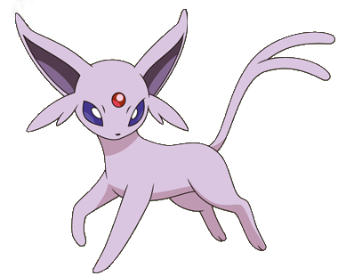 Transparent espeon pokemon xy. What are the different