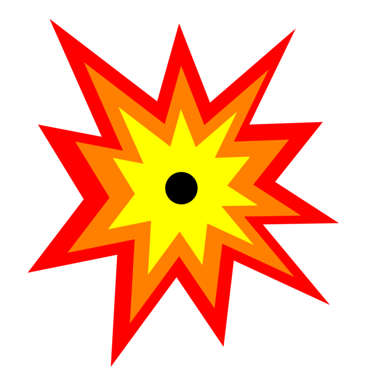 Transparent explosions symbol. Computer icons explosion download