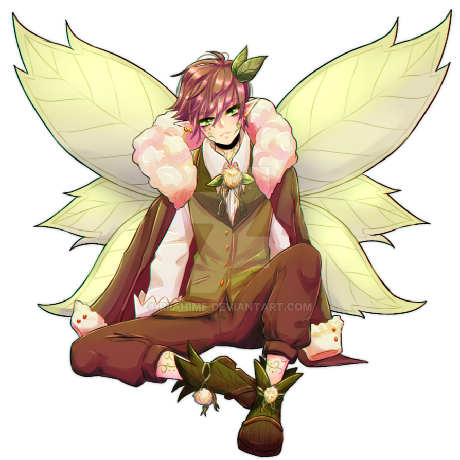transparent fairy boy