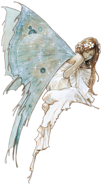 Transparent fairy fae. The faerie