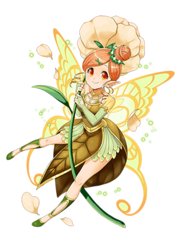 Transparent fairy mystical. File kianna of flower