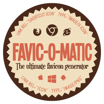 Transparent favicons. The ultimate favicon generator