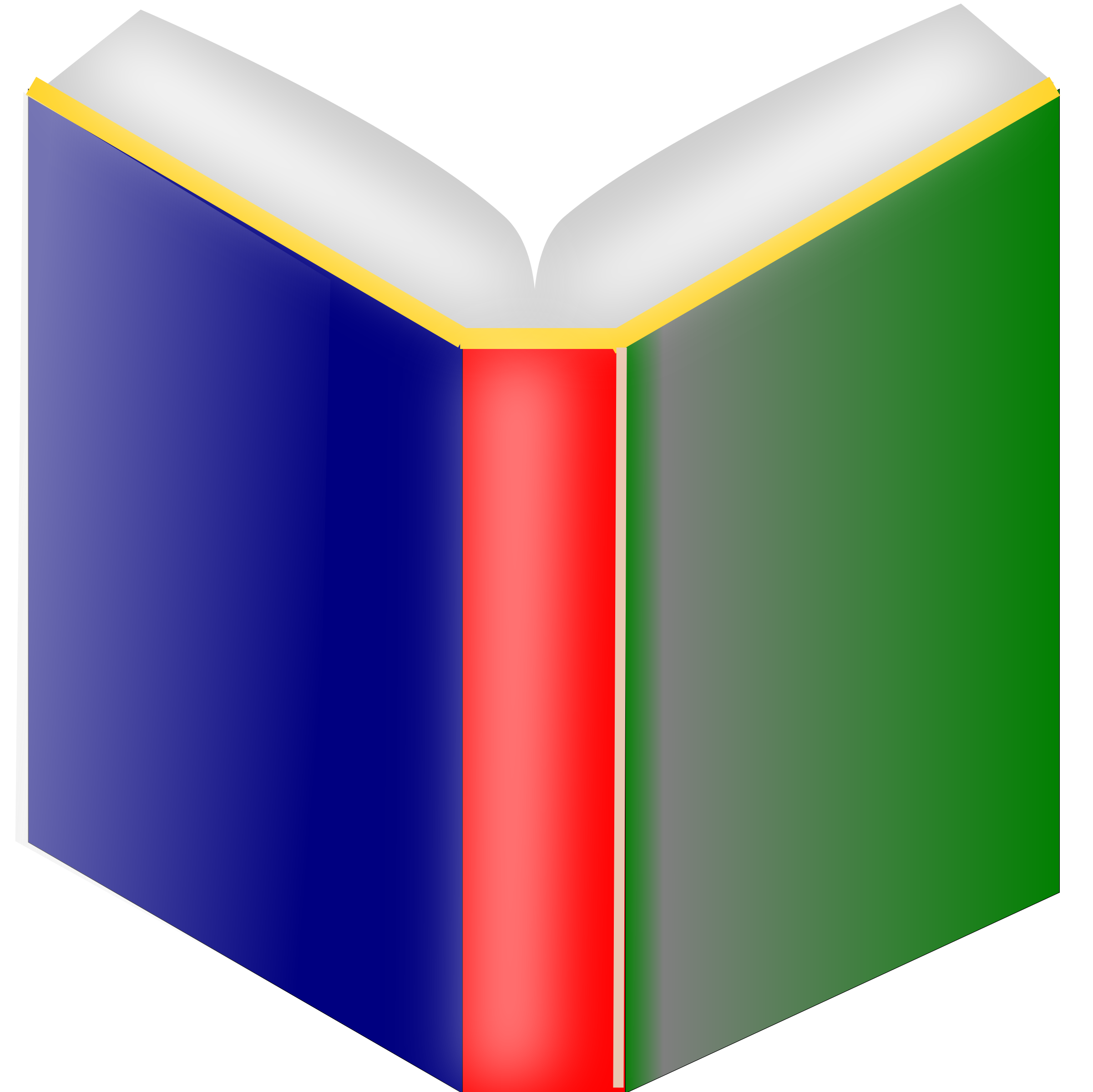 Transparent favicons books. Book with new fade