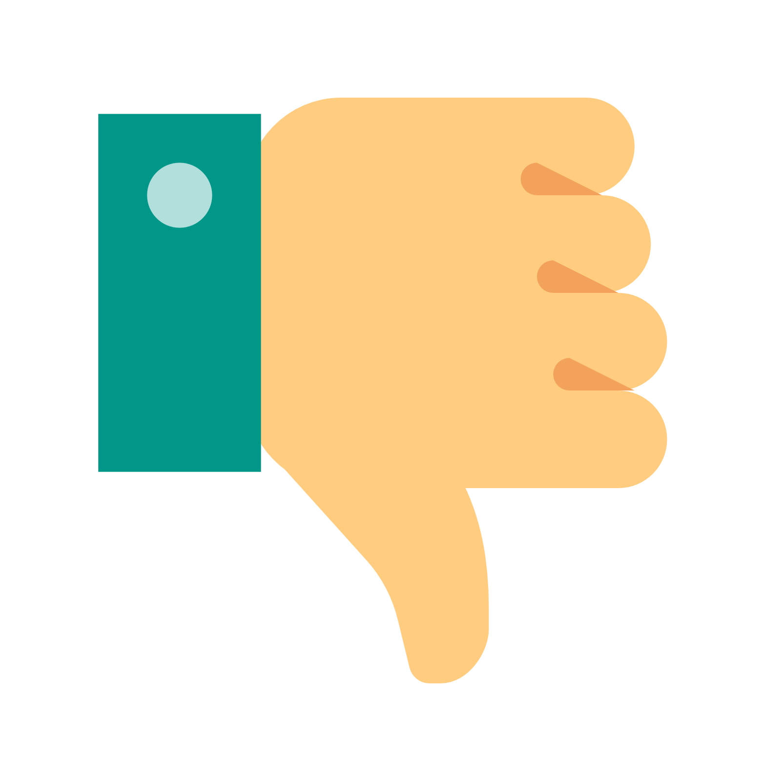 Thumb vector up and down. Free icon download thumbs