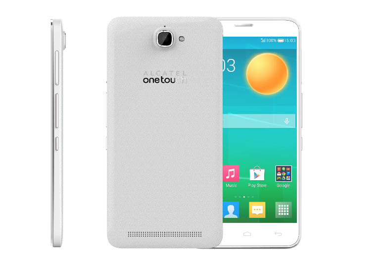 Transparent flash phone. Alcatel onetouch with mp