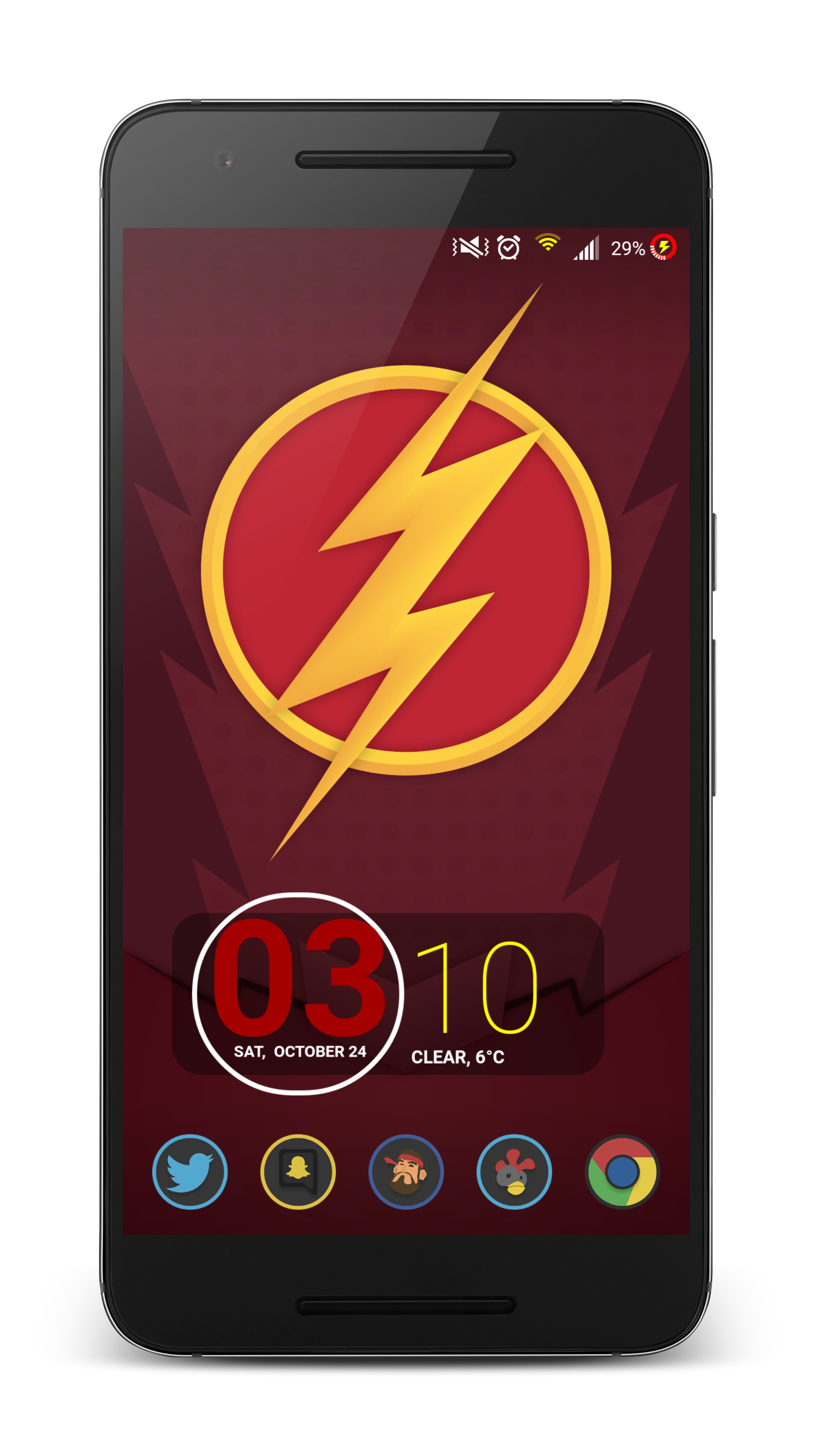 Transparent flash phone. Fan content my android