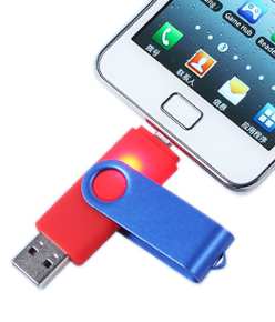 Transparent flash phone. Android usb drives for