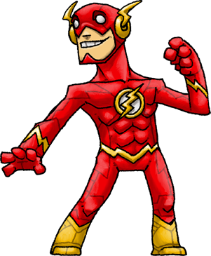 Transparent flash the new 52. By hologramzx on deviantart