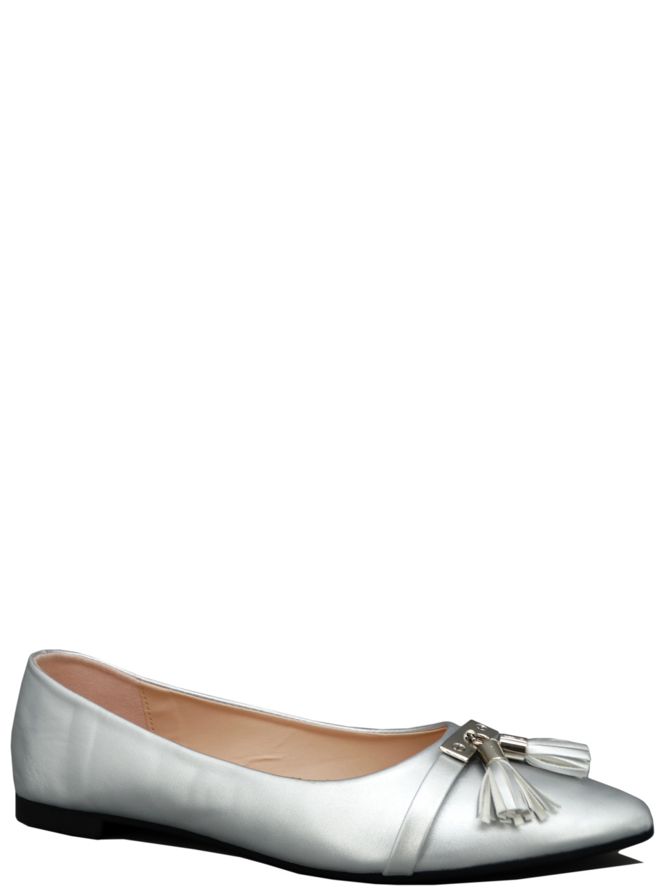 Transparent flats pointed toe. Nk flat shoes maxie