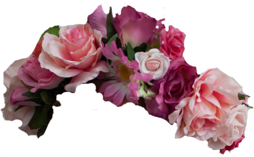 Transparent flower crown png. Wow references image