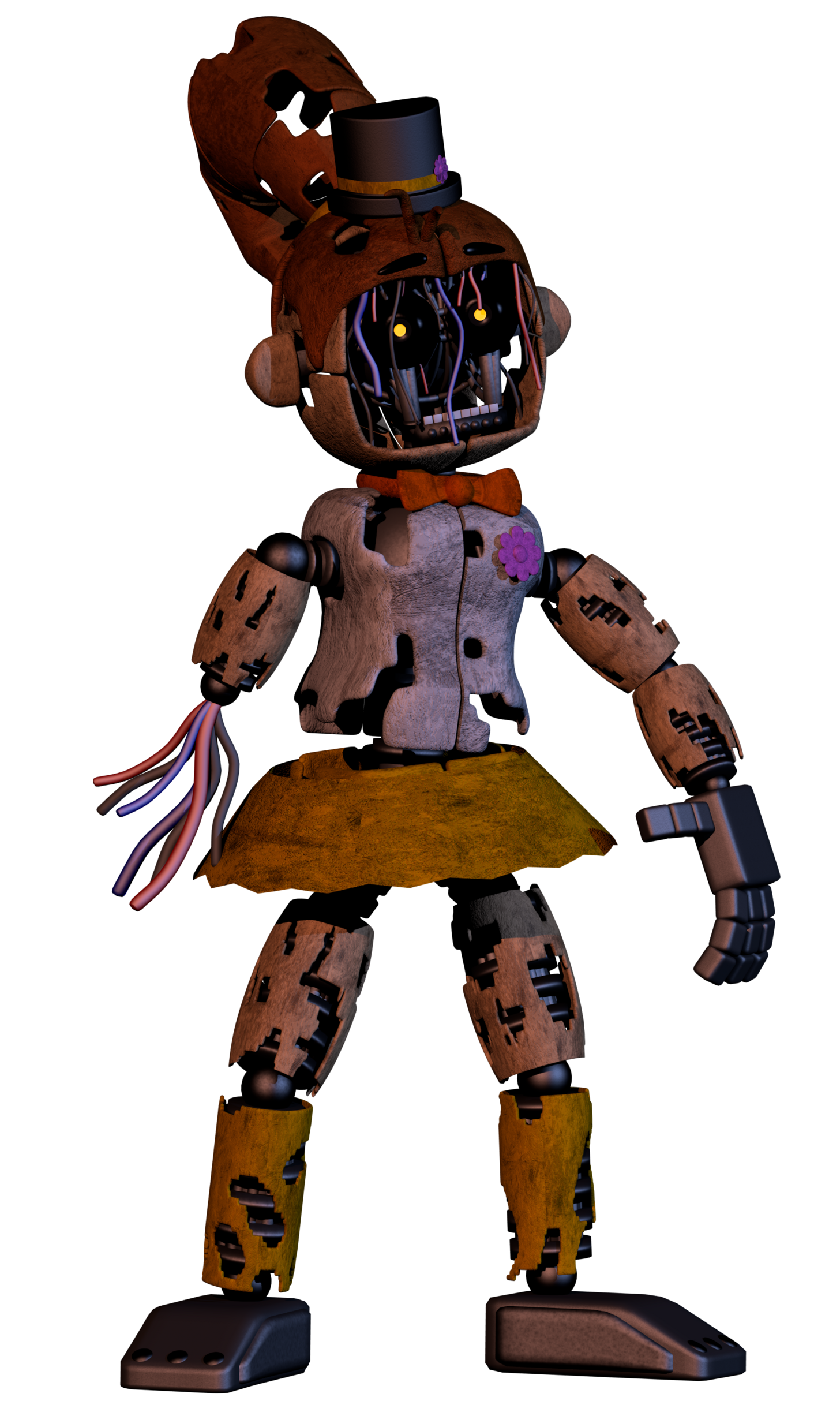 Transparent fnaf animatronic. Well since i am