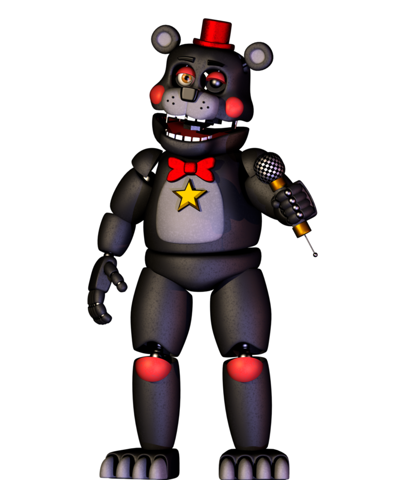 Transparent fnaf animatronic. Lefty full body by