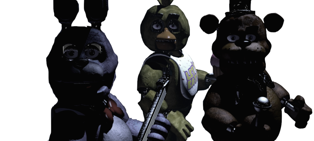 Transparent fnaf animatronic. Animatronics looking at camera