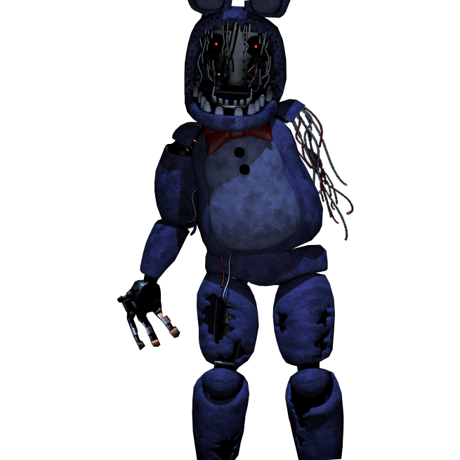 Transparent fnaf bonnie. Imagen withered commission by