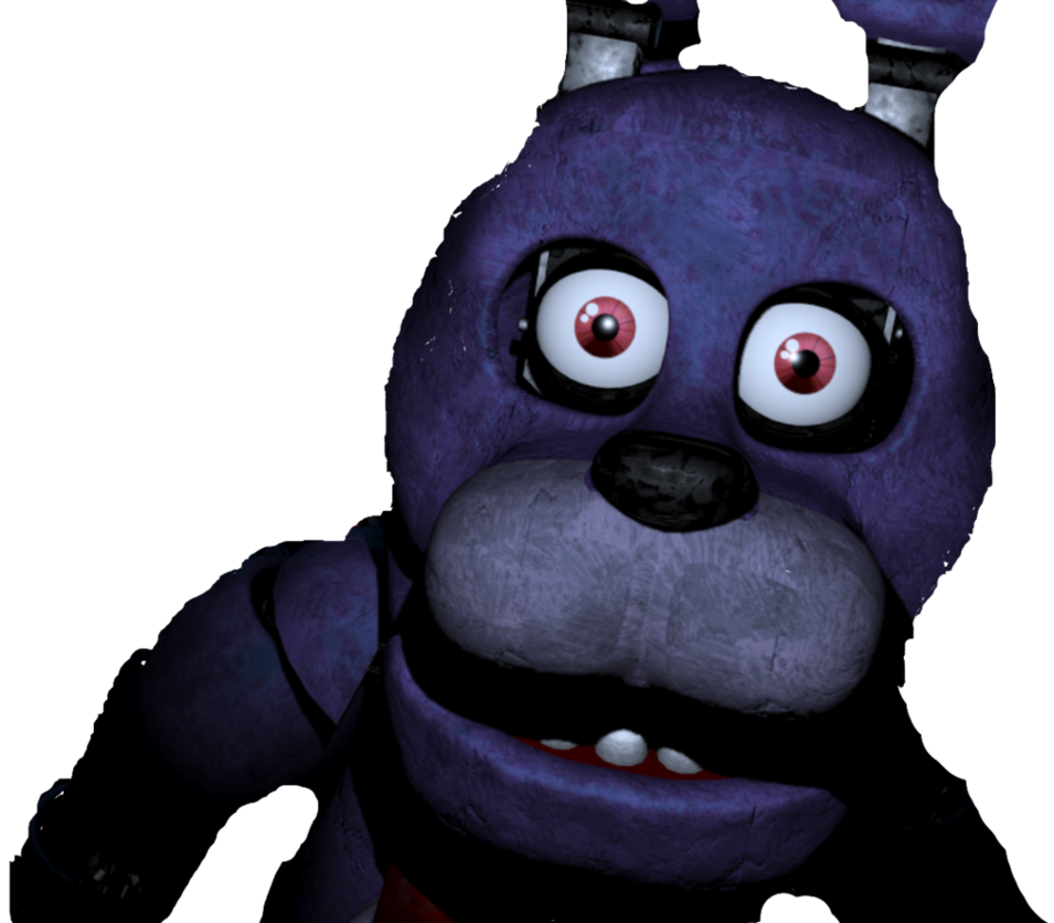 Transparent fnaf bonnie. In office by dreemurredits