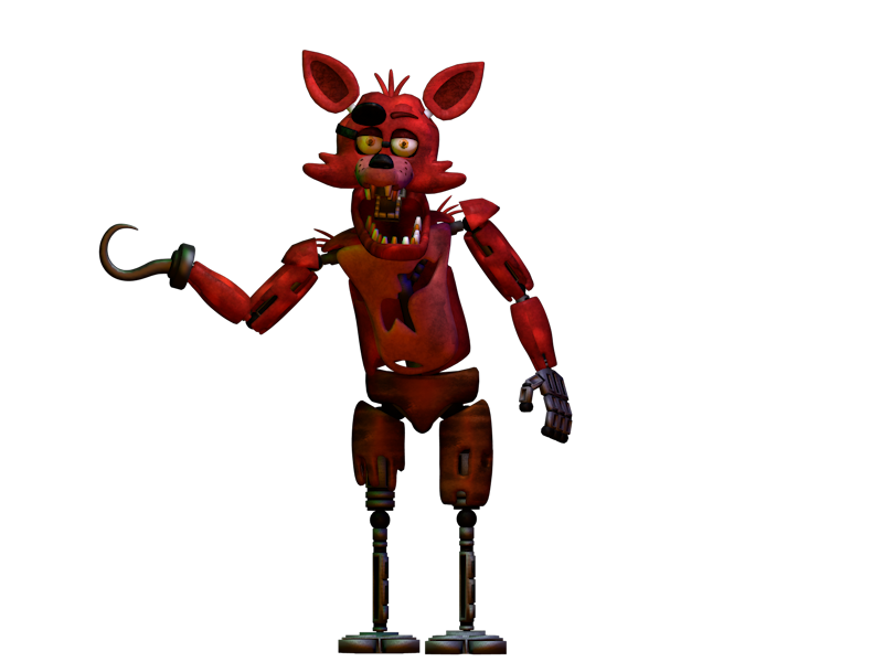 Foxy transparent fnaf sfm. C d render by