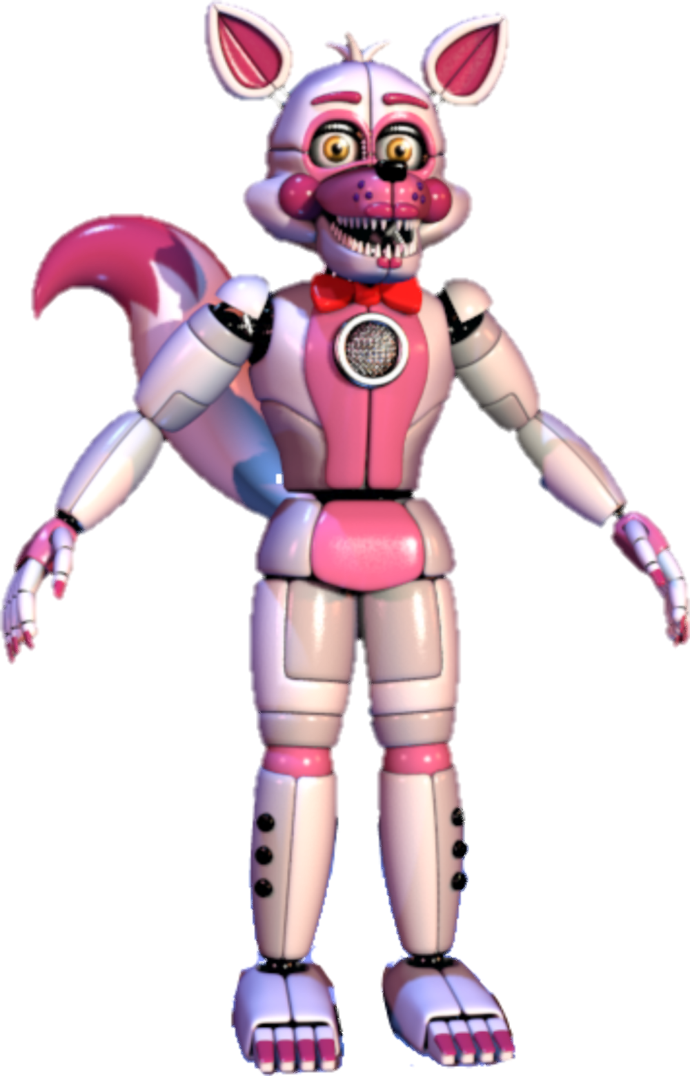 Transparent fnaf full body. Image funtime foxy by