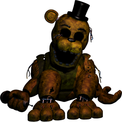 Transparent fnaf golden freddy. From good quality roblox