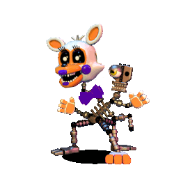 Transparent fnaf lolbit. Withered world fanart by