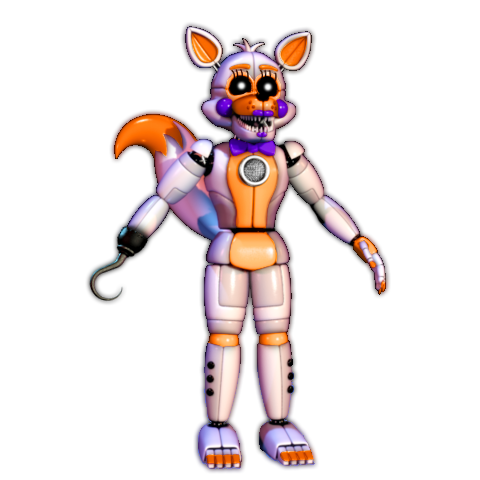 Transparent fnaf lolbit. Sister location by therealpazzy