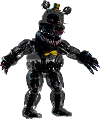 Foxy transparent fnaf 4. Nightmare five nights at