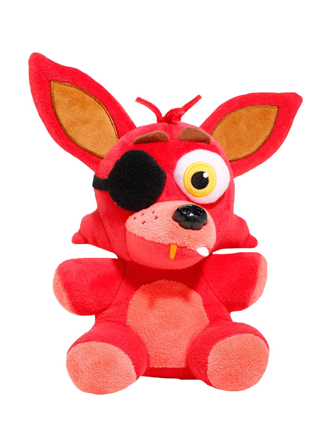foxy transparent plush