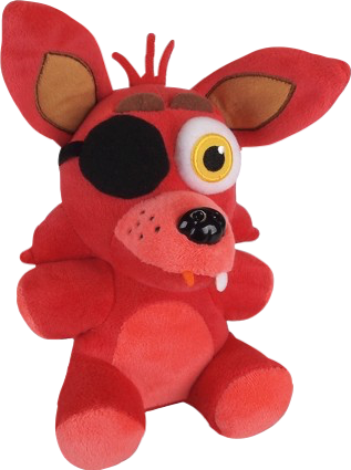 Foxy transparent plush. Fnaf funko png by