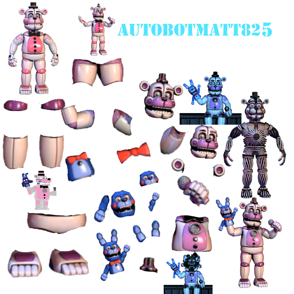 Transparent fnaf resource pack. Funtime freddy rescources funtimefre