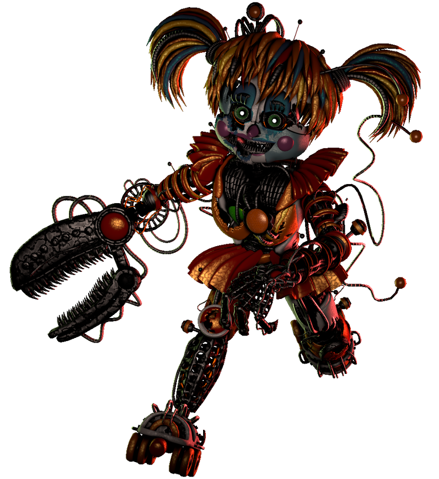 Transparent fnaf sfm scrap baby. Collab entry by fazband