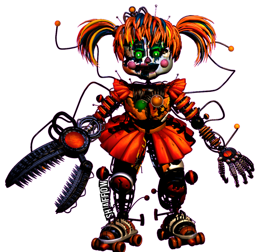 Transparent fnaf sfm scrap baby. Full body render by