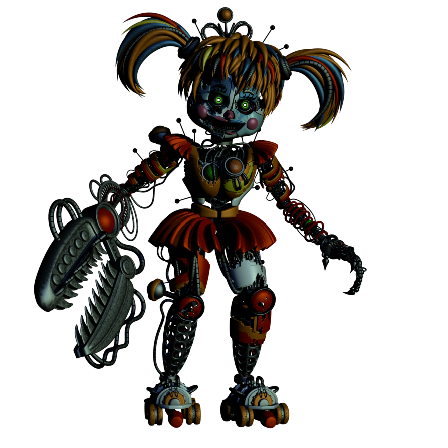 Transparent fnaf sfm scrap baby. V by endyarts on